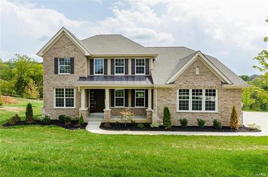 Payne Family Homes builder inventory home in Eureka, Missouri