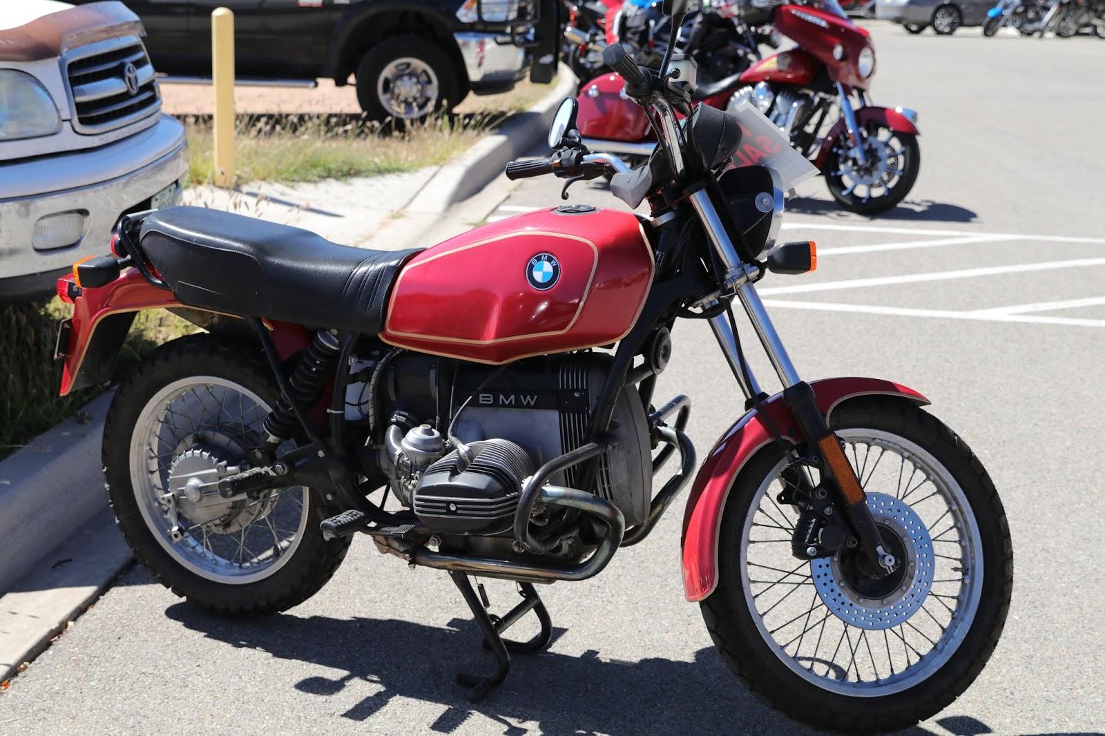 oldmotodude  bmw rst  sale      motorado classic motorcycle show