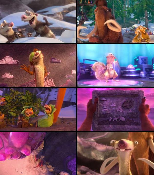 Ice Age Collision Course 2016 Dual Audio Hindi 480p BRRip