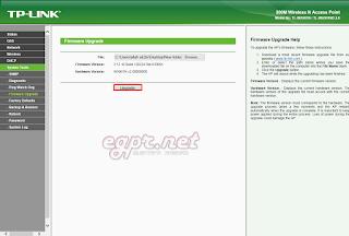 تحديث اكسز Firmware Acess point TPLINK TL-WA701 ND v2