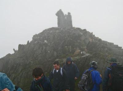 Arrivare alla Cima del Monte Snowdon