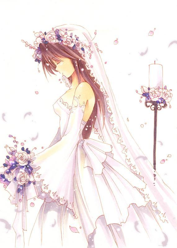 Cute Marriage Couple Wallpaper Anime Blog Anime Wedding
