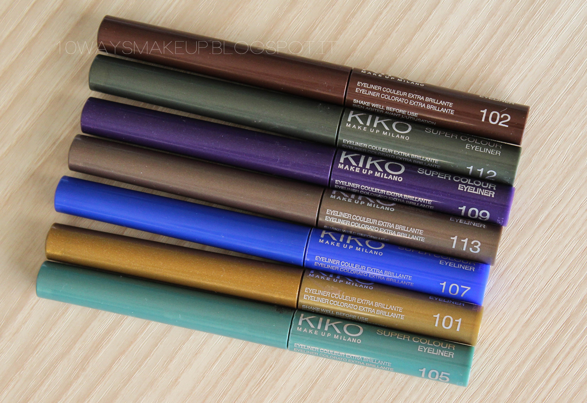 Kiko Super Colour Eyeliner