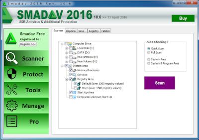 App for PC Smadav V 10.6 Pro Terbaru 2016