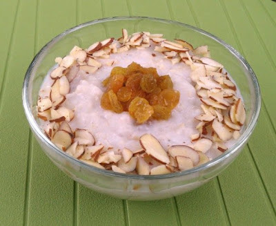 Slow Cooker Vegan Kheer (Indian Rice Pudding) from Healthy Slow Cooking [found on SlowCookerFromScratch.com]