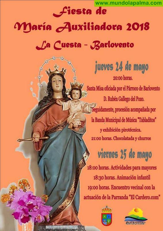 Fiesta de María Auxiliadora 2018 La Cuesta, Barlovento