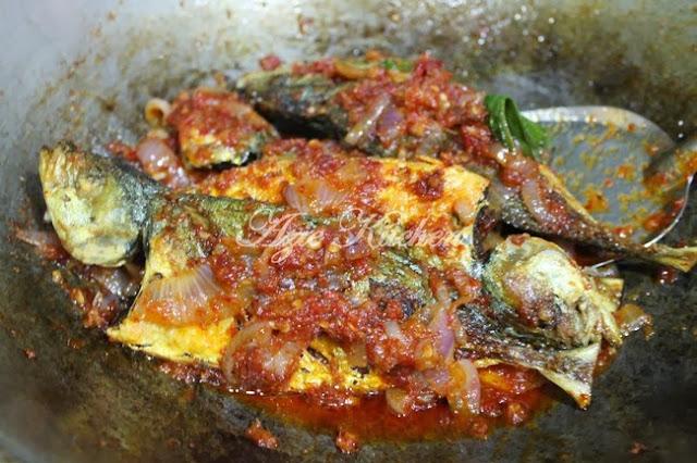 Ikan Selar Goreng Berlado Yang Sungguh Sedap