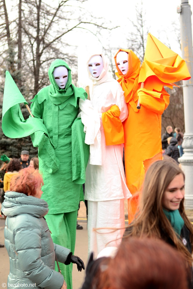St. Patrick's Day 2014 moscow