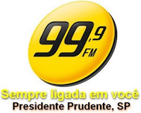 Rádio 99 FM 99,9 de Presidente Prudente SP