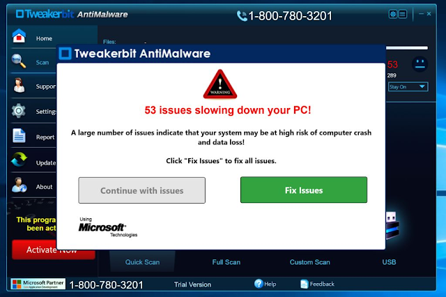 Tweakerbit Antimalware (Rogue)