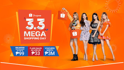 Shopee Unveils BLACKPINK as Official Campaign Ambassador  for Shopee 3.3 Mega Shopping Day