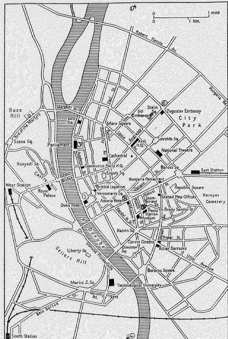 budapest térkép 1956 Sextant Blog: 156.) T 34: 1956 os Forradalom és Szabadságharc  budapest térkép 1956