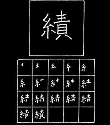 kanji pencapaian