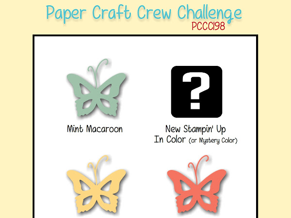 Paper Craft Crew Challenge #198
