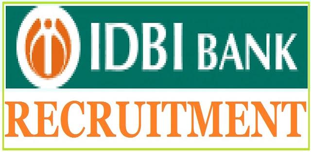IDBI Bank,DGM, AGM, Manager Posts Recruitment, Apply online