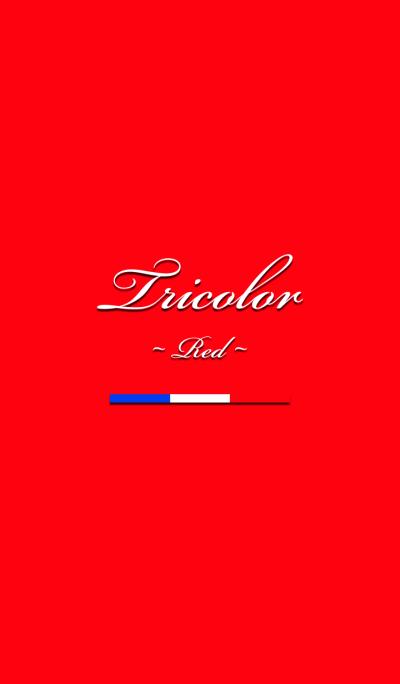 Tricolore -Red-