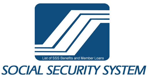 List of SSS Benefits and Member Loans