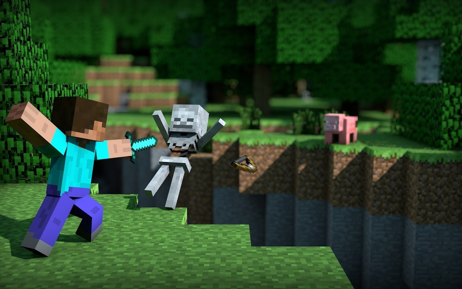 Beautiful Wallpaper Minecraft Youtube - 3d-game-screenshot-minecraft-wallpaper  Image_48316.jpg
