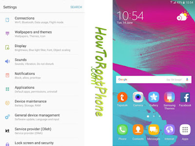 How to Flash Grace UX ROM on Note 5