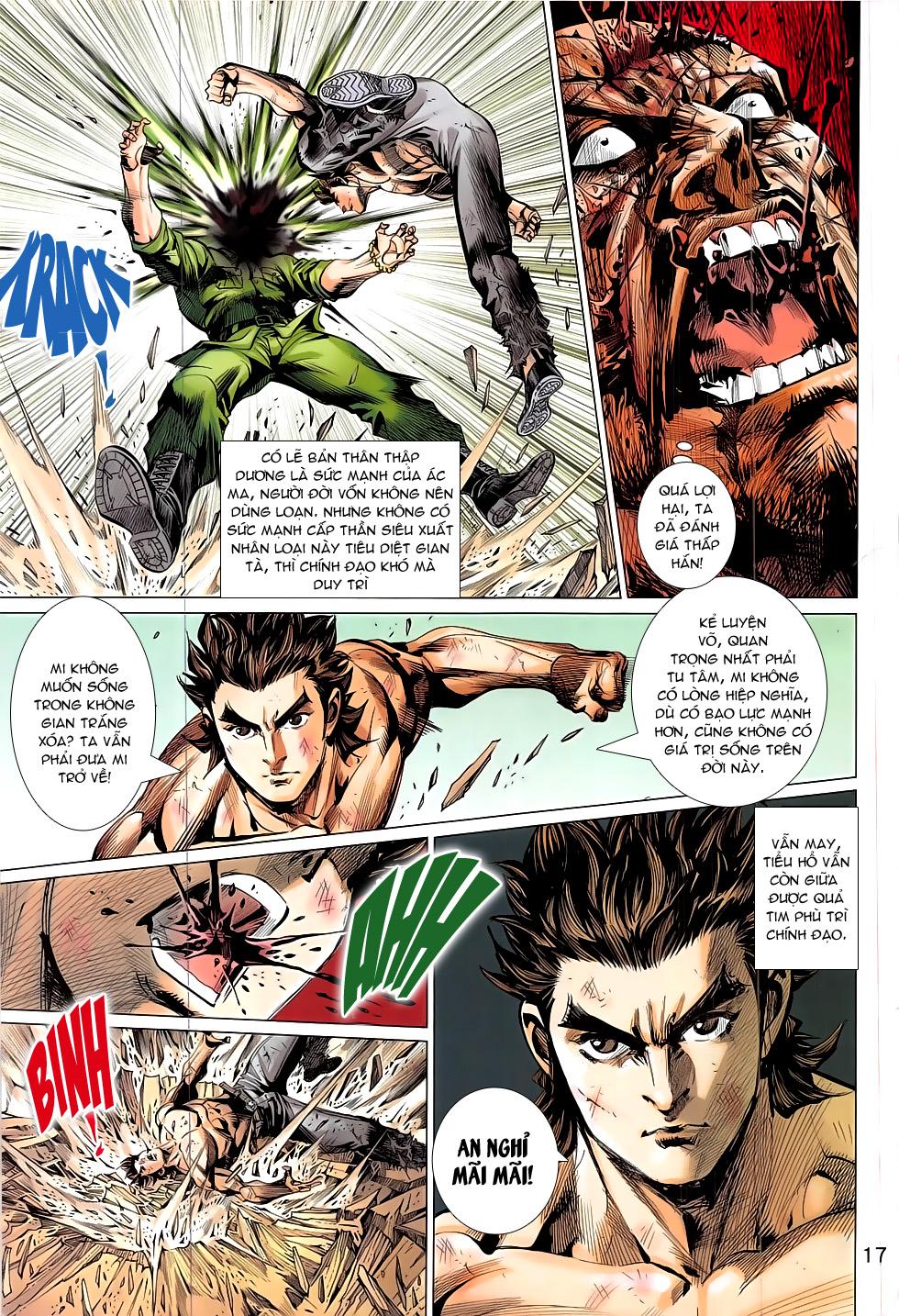 Đông Phương Chân Long chap 66 - Trang 17