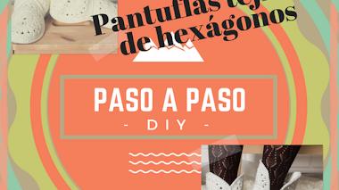 Pantuflas tejidas - DIY