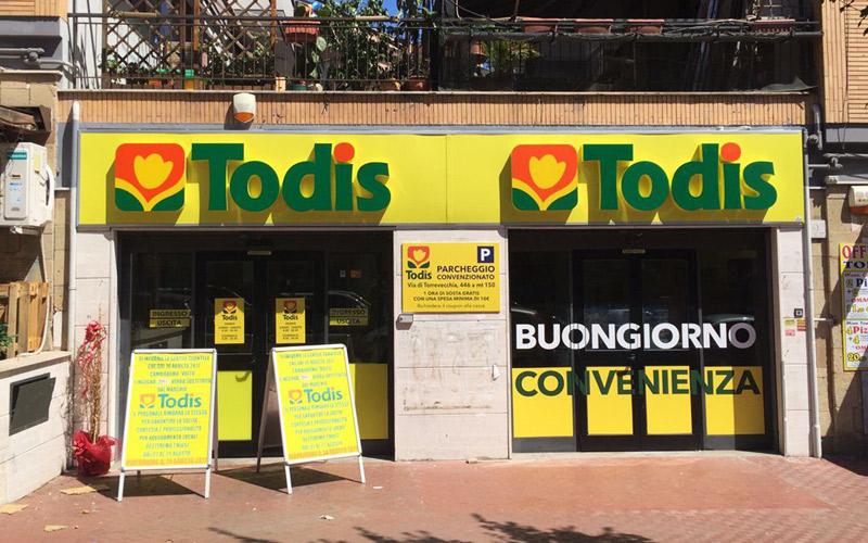 Supermercado Todis Roma