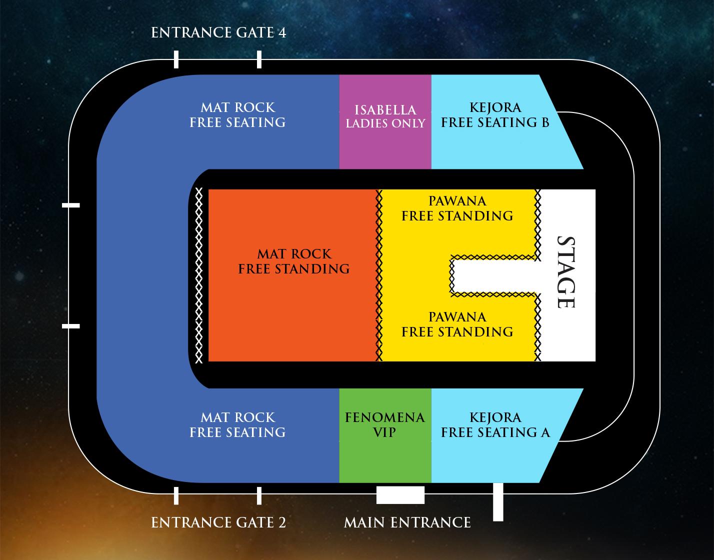 Plan kedudukan konsert 35 tahun Search