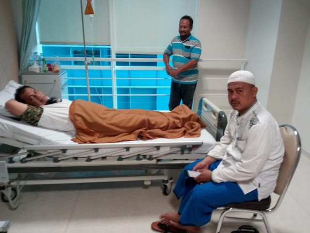 Pembengkakan Jantung, Ketua Panitia Reuni 212 Dirawat di RS PON