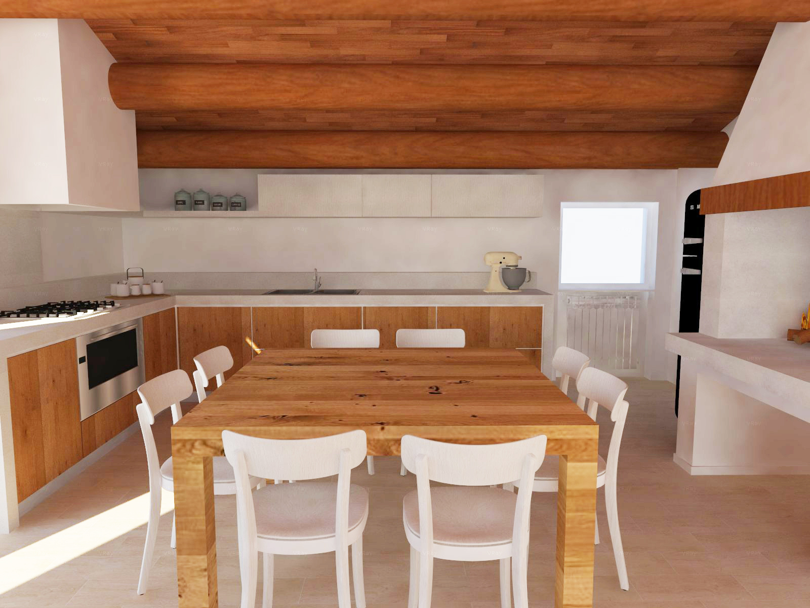 Cucina angolare sweet home d