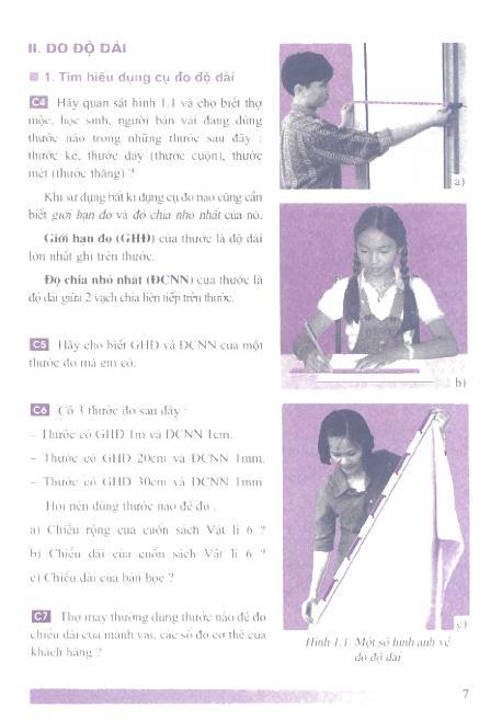 Trang 8 sach Sách Giáo Khoa Vật Lí Lớp 6