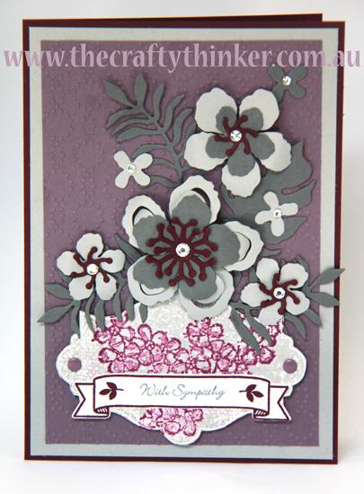 SU, Sympathy Card, Everything Eleanor, Birthday Blossoms