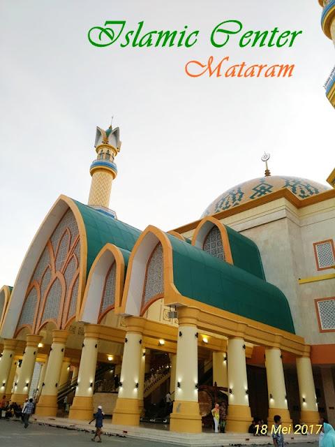 Islamic Center Mataram: Menikmati Senja Langit Lombok