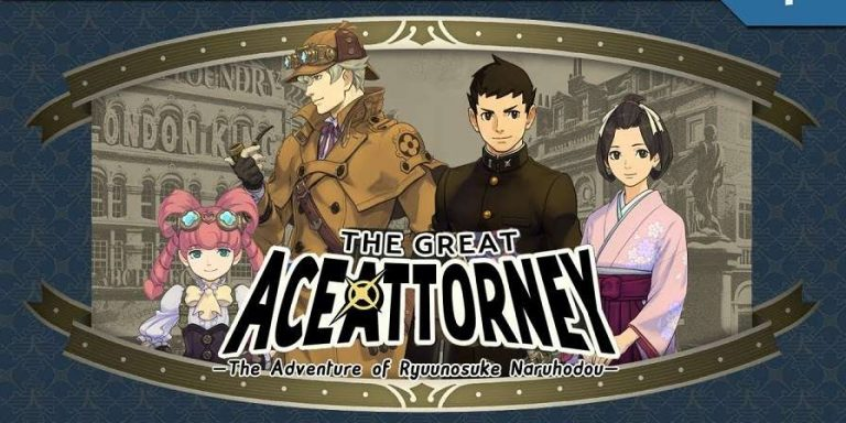 The Great Ace Attorney 1 01 APK ENGLISH