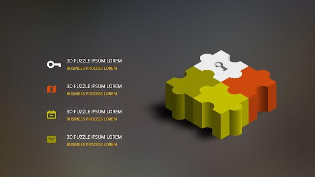 3D FLAT puzzle_2