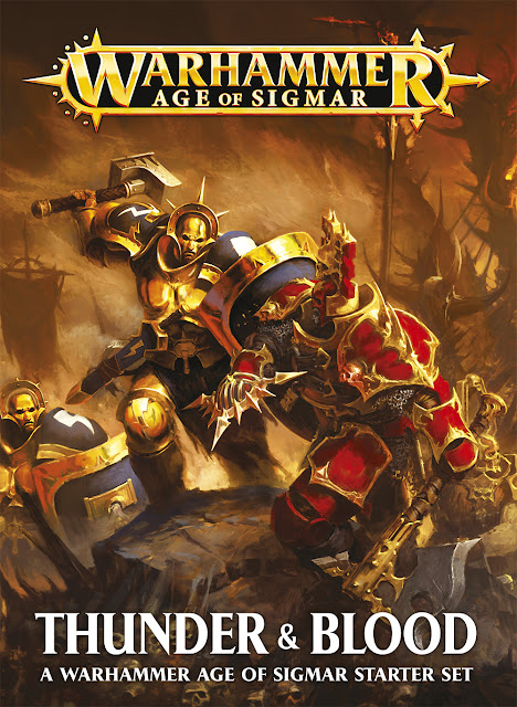 Element Games: Warhammer Age of Sigmar: Thunder & Blood Starter Set