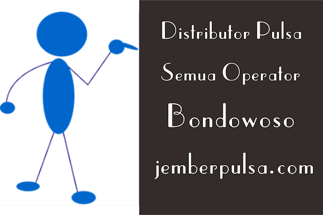 Distributor Pulsa Semua Operator Bondowoso
