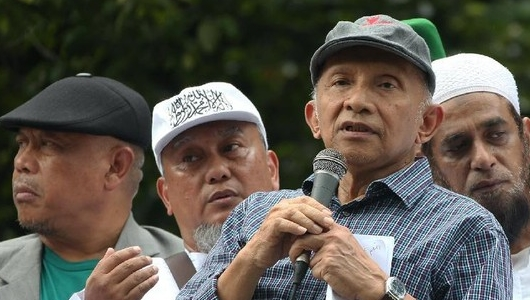 Amien Rais Minta KPU Audit Forensik IT-nya, Ancam Prabowo akan Mundur