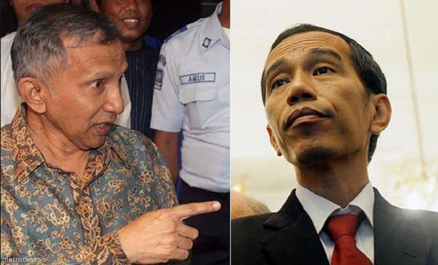 Setelah Heboh Luhut Sekarang Giliran Jokowi Sentil Amien Rais