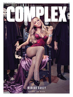 Mariah Carey covers Complex magazine. Talks about Prince and Marilyn Monroe. Details at JasonSantoro.com