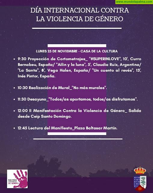 Programa del Día Internacional Contra La Violencia de Género 2019 en Garafía