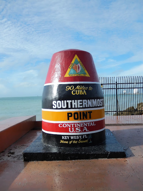 Southernmost el punto más al sur de los EE.UU en Key West