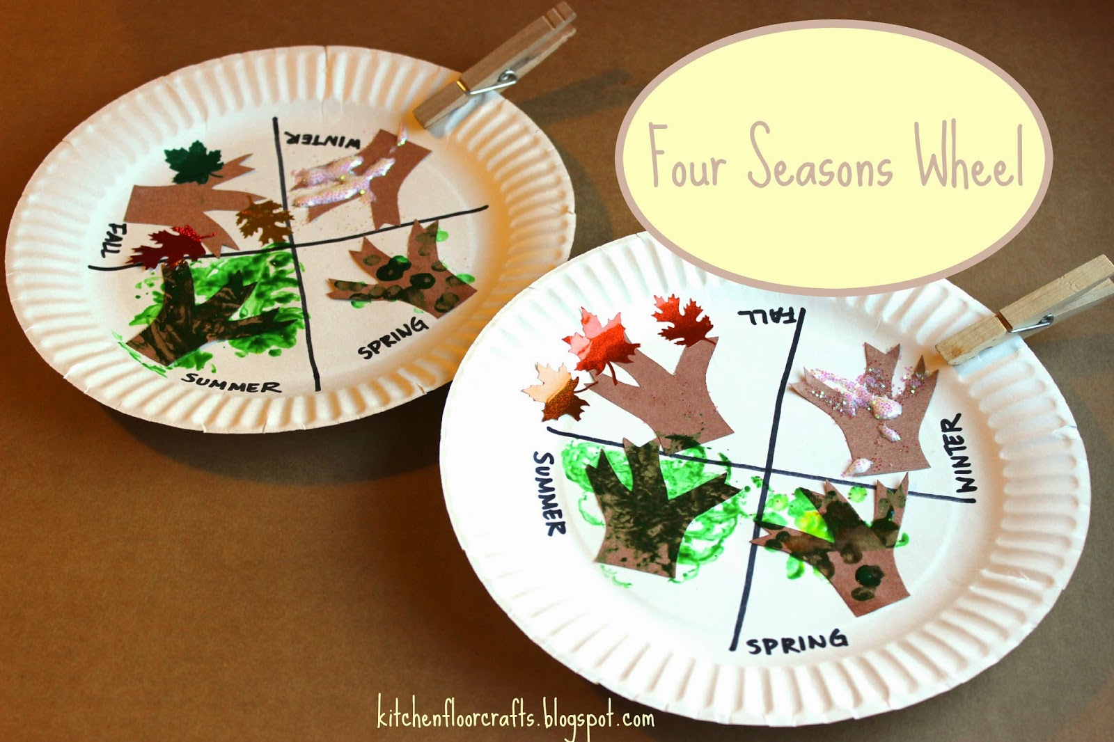 Kitchen Floor Crafts Four Seasons Wheel