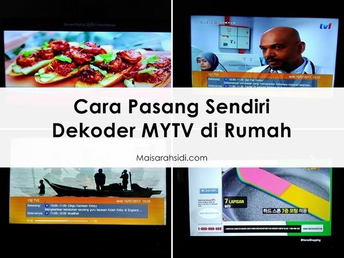 cara pasang dekoder MYTV