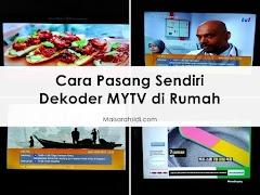 Cara Pasang Sendiri Dekoder MYTV di Rumah