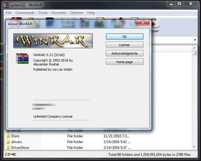 WinRAR 5.31 Final Full