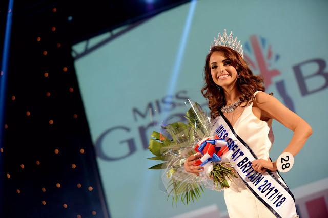 ملكة جمال بريطانيا العظمى لسنة  Saffron Hart