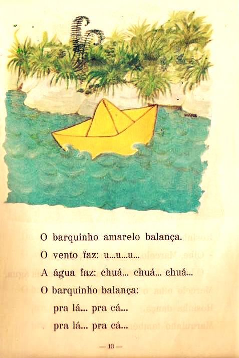 livro o barquinho amarelo para