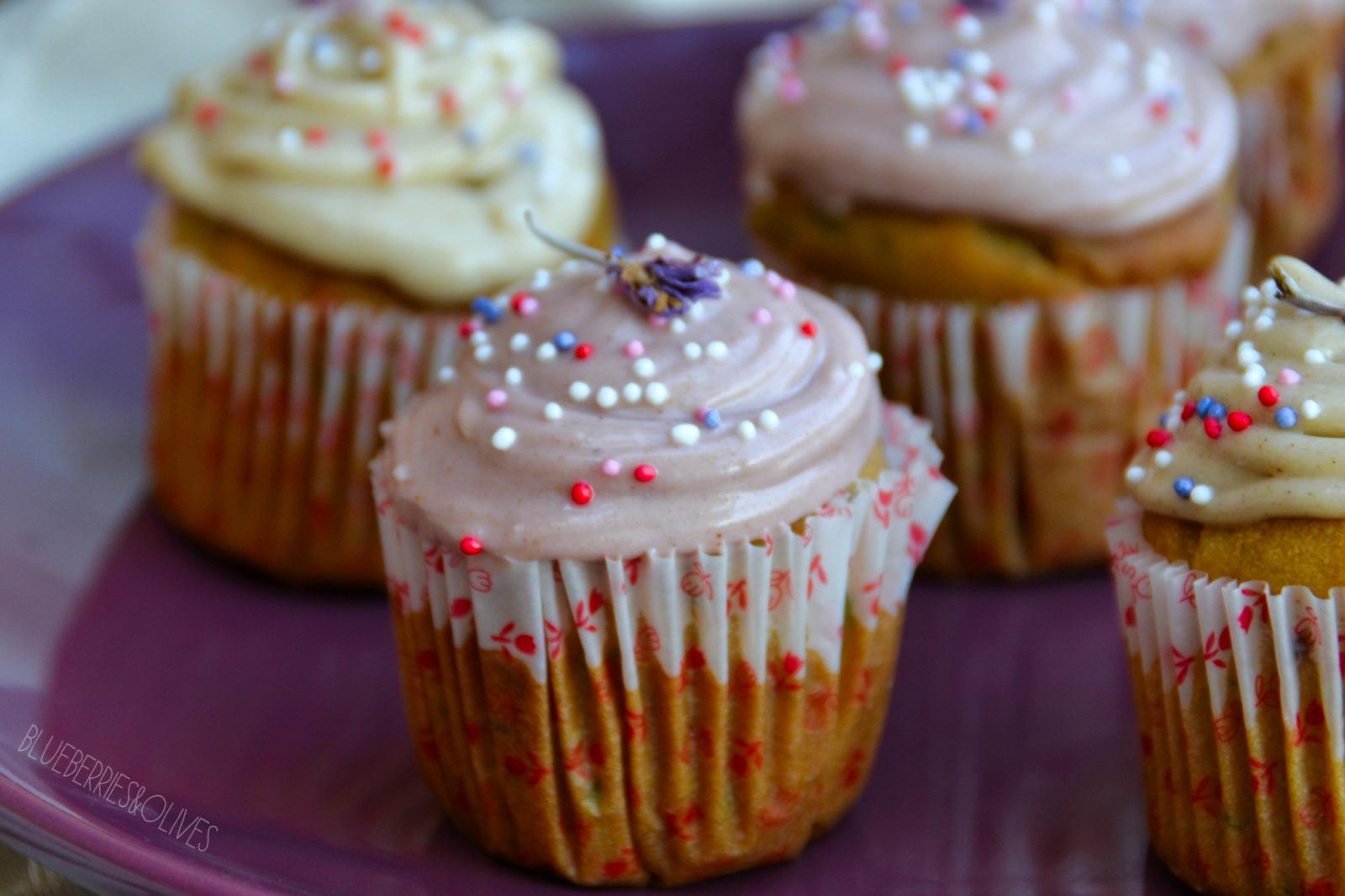 Cupcakes de calabacín, cardamomo y anís 10