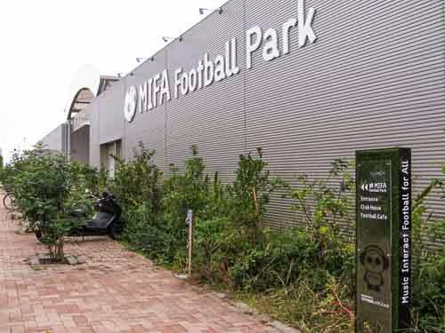 MIFA Football Park, Toyosu.
