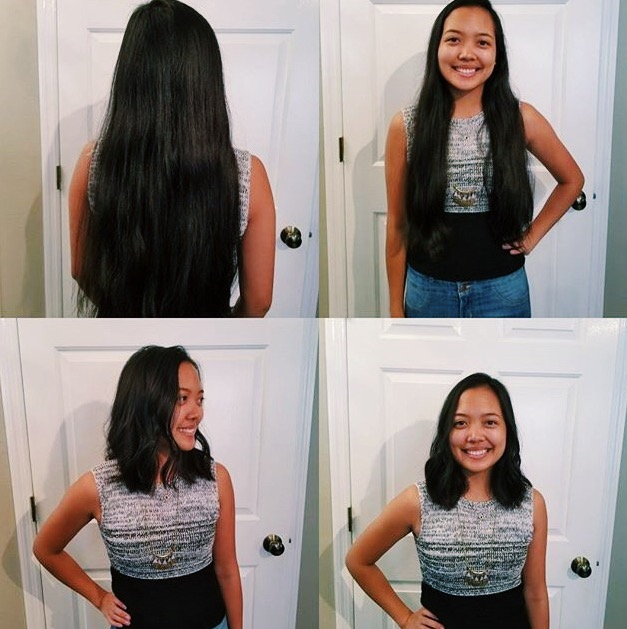 pantene beautiful lengths, Lauren Banawa, summer haircut, haircut before and after